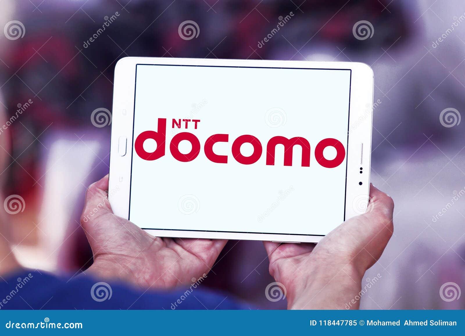 NTT DOCOMO Telecommunications Company Logo Editorial Image - Image