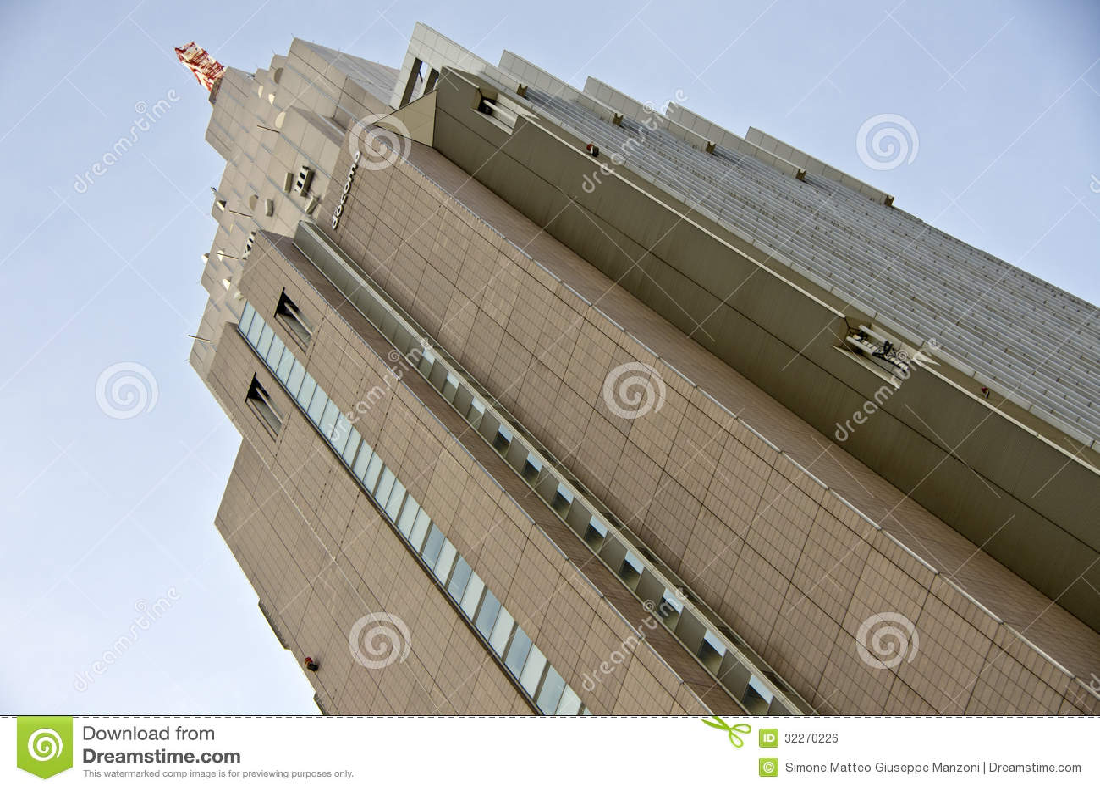Free Floorplan Ntt Docomo Yoyogi Building Tokyo Editorial Photo Image