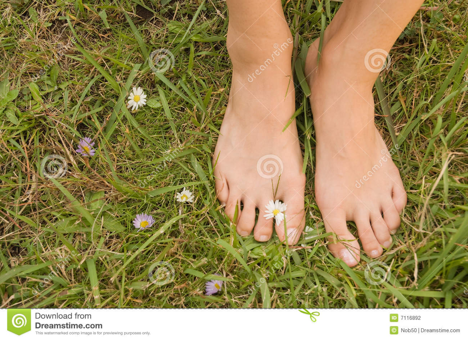 Video aficionado de pied femme