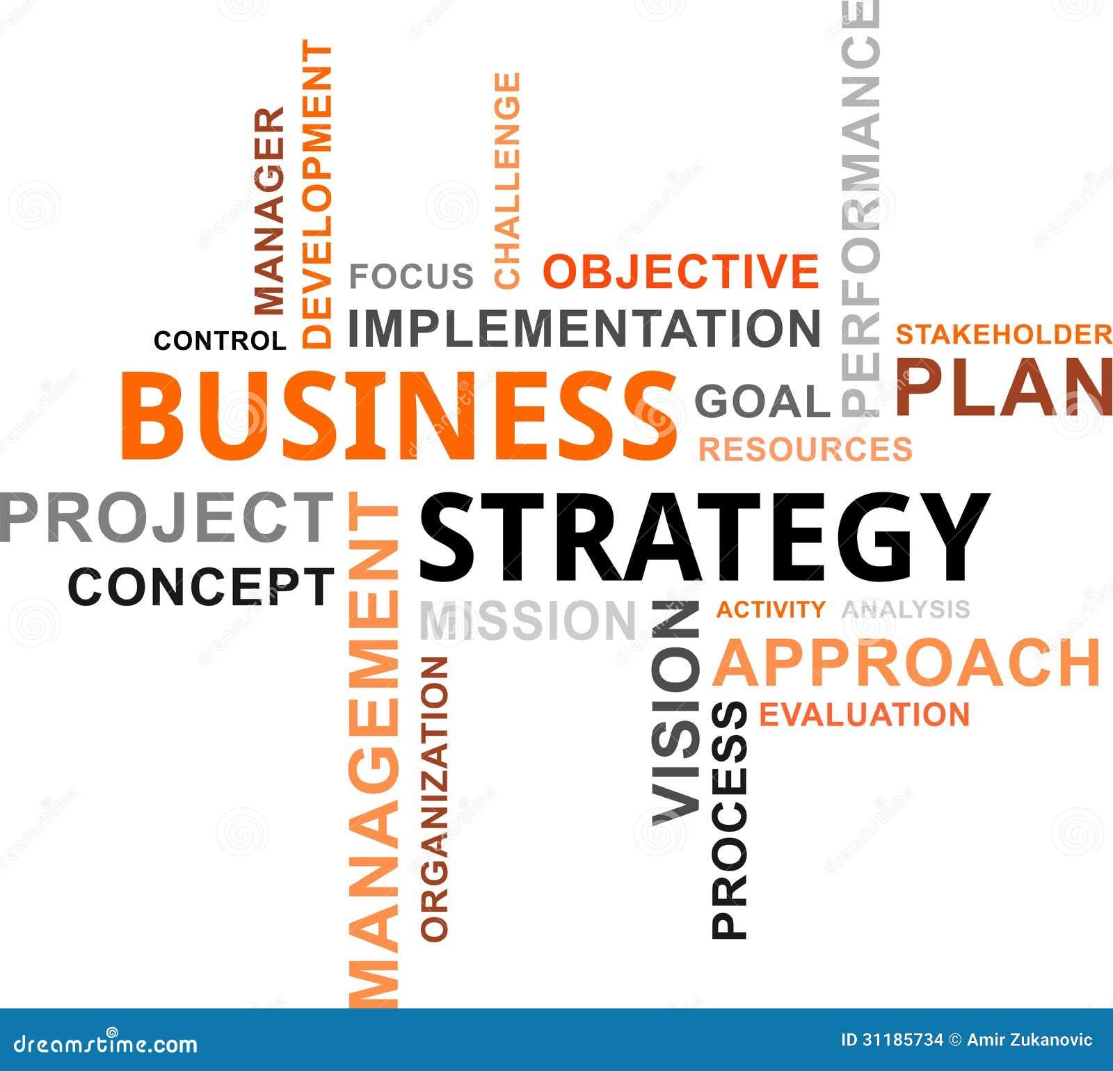 Nuage de Word - stratégie commerciale