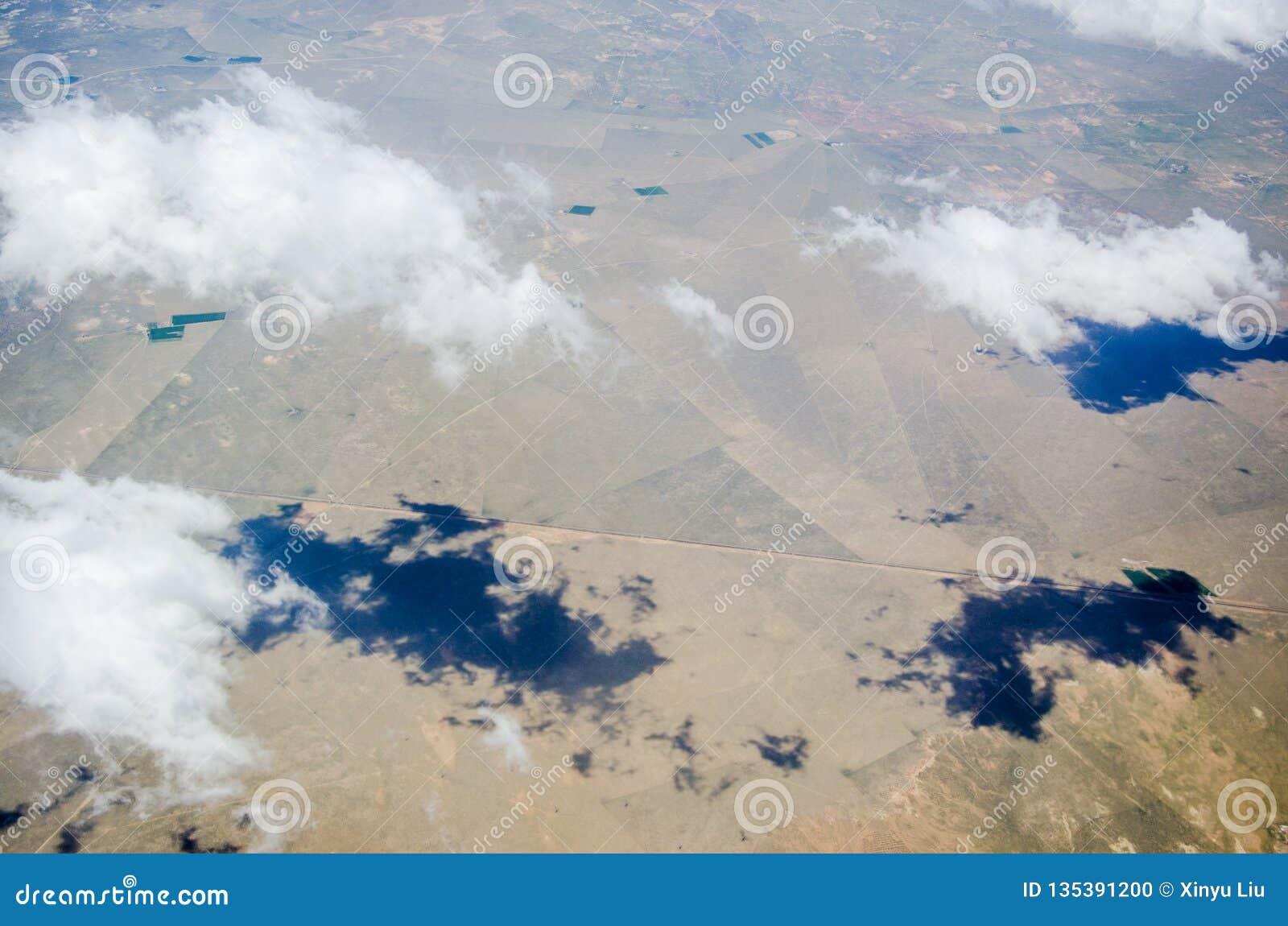 Nuages de désert