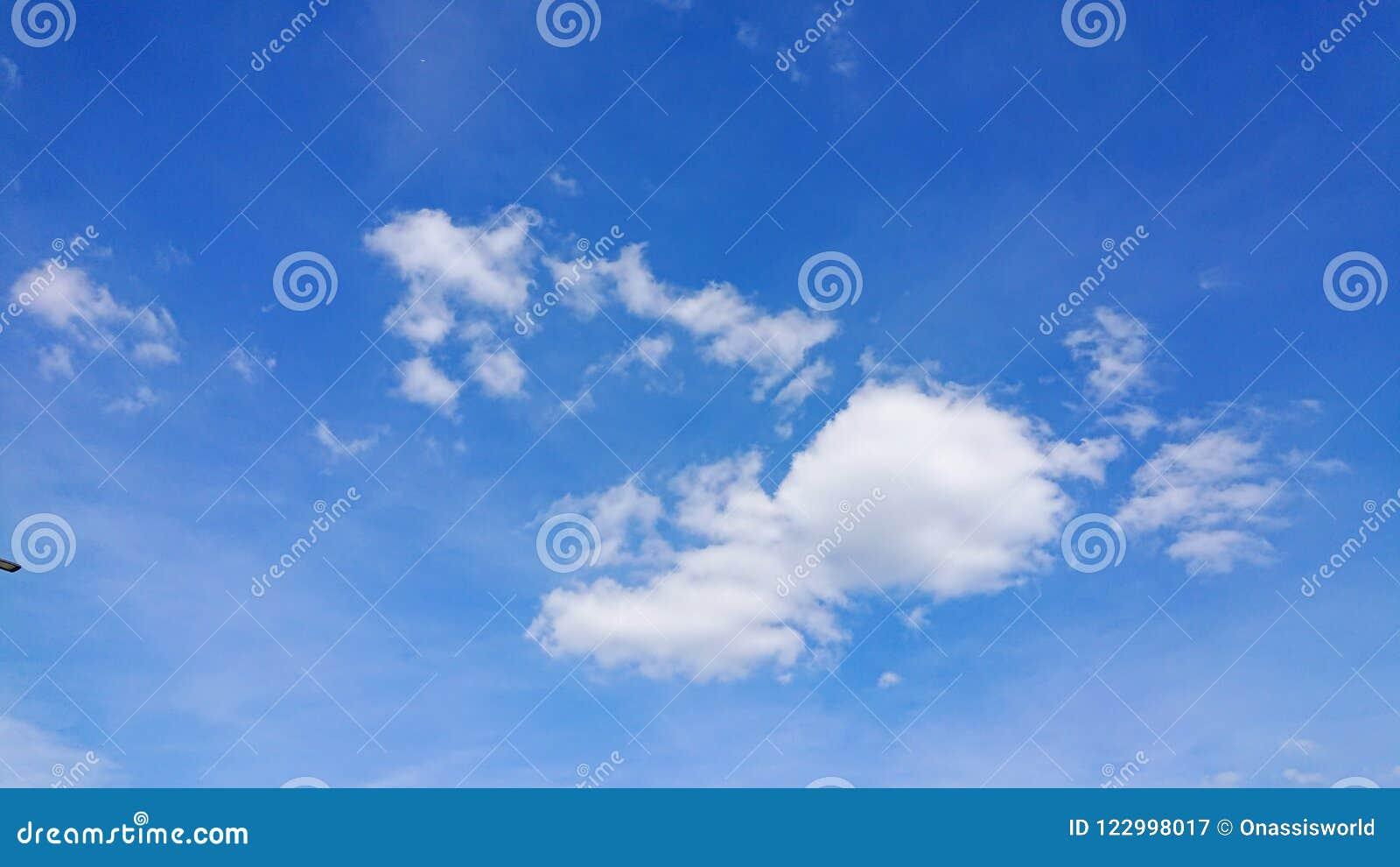 Nuages de Humilis de cumulus