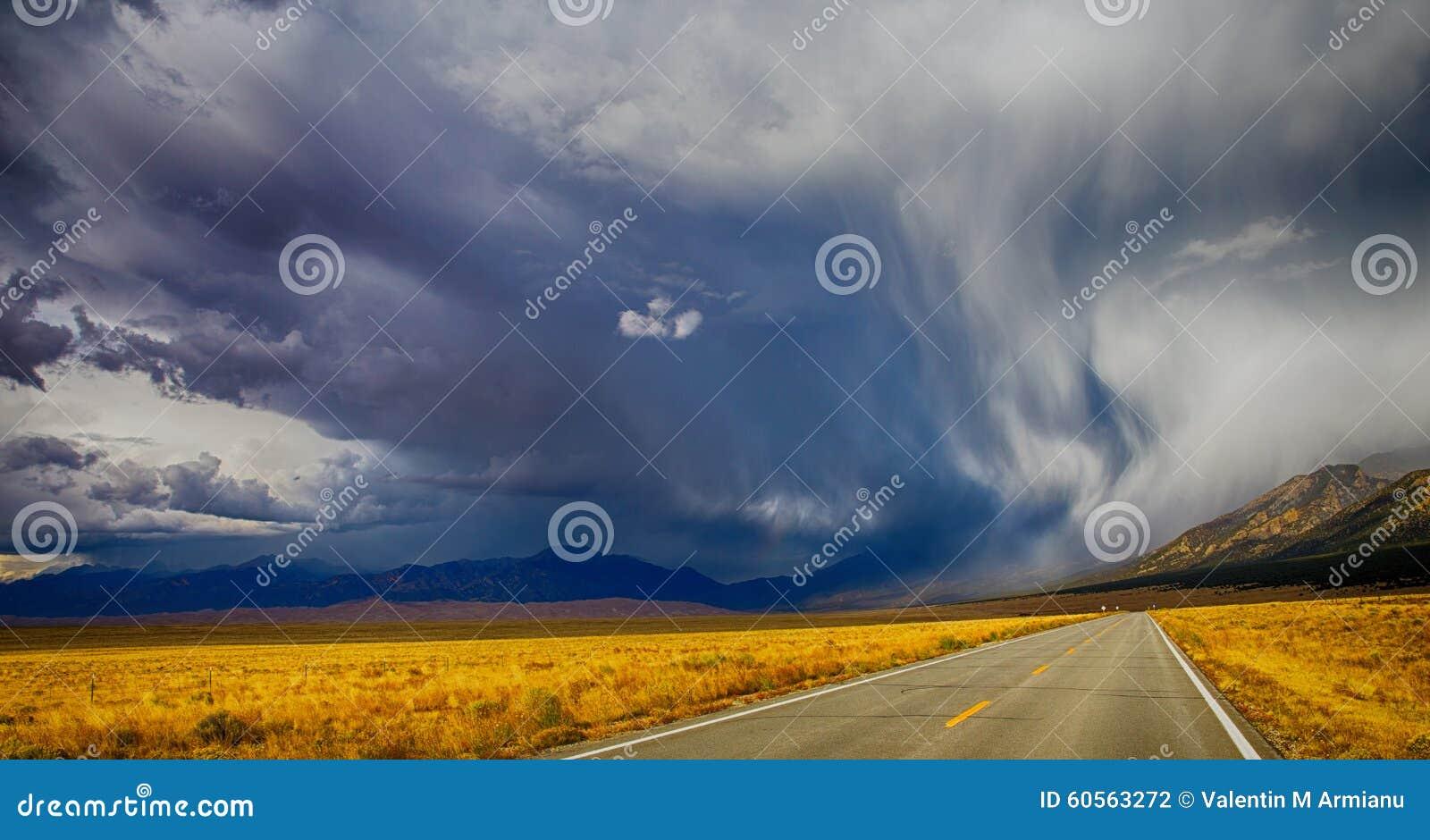 Nuages de tempête