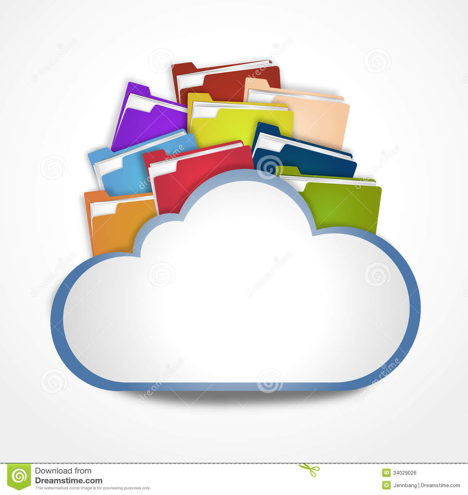 Nube de Internet con los ficheros