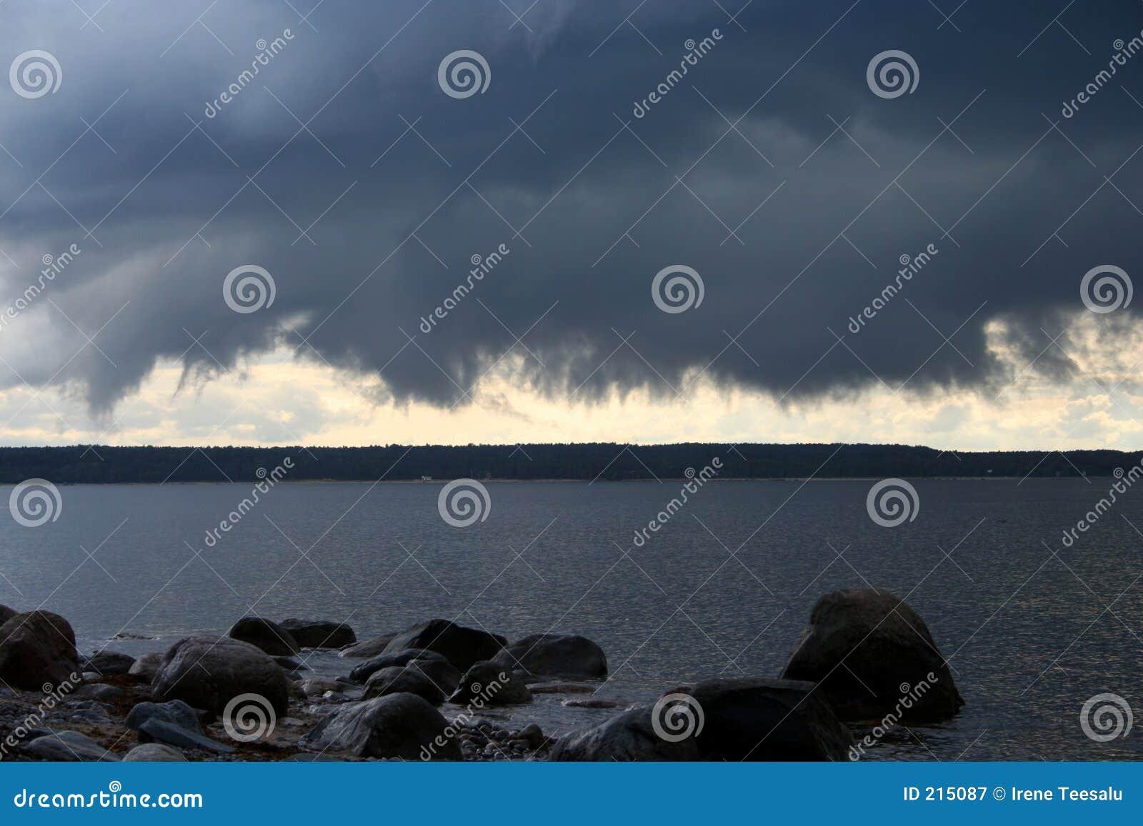 Nube minacciosa