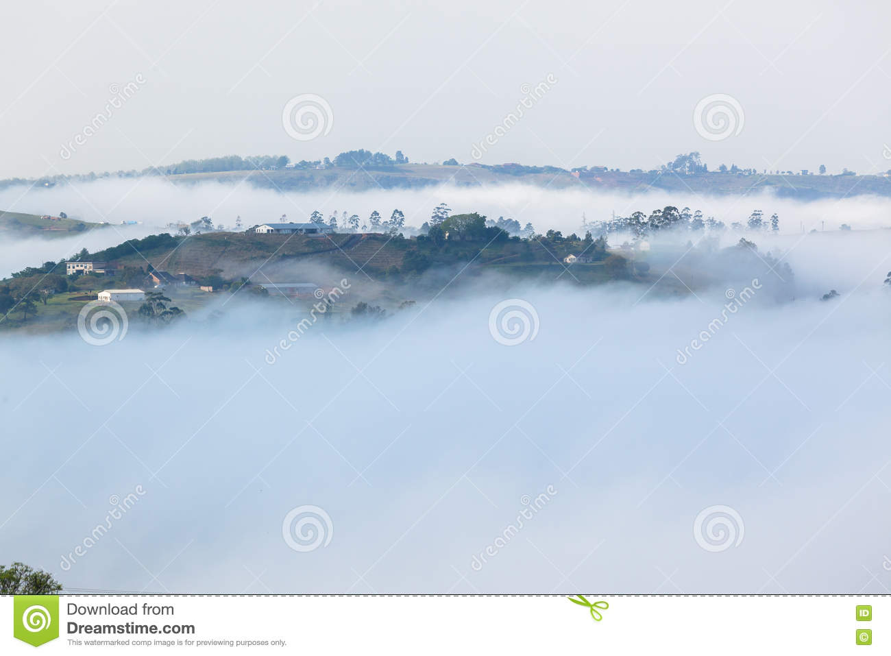 Nube Misty Valley Hills Farmland