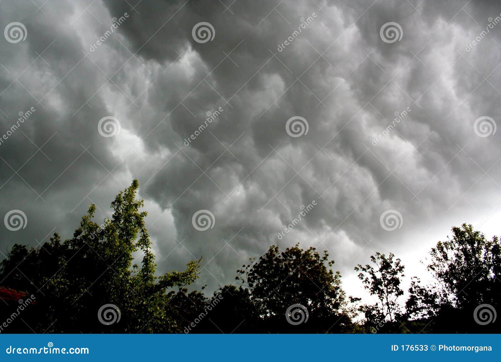 Nube tormentosa