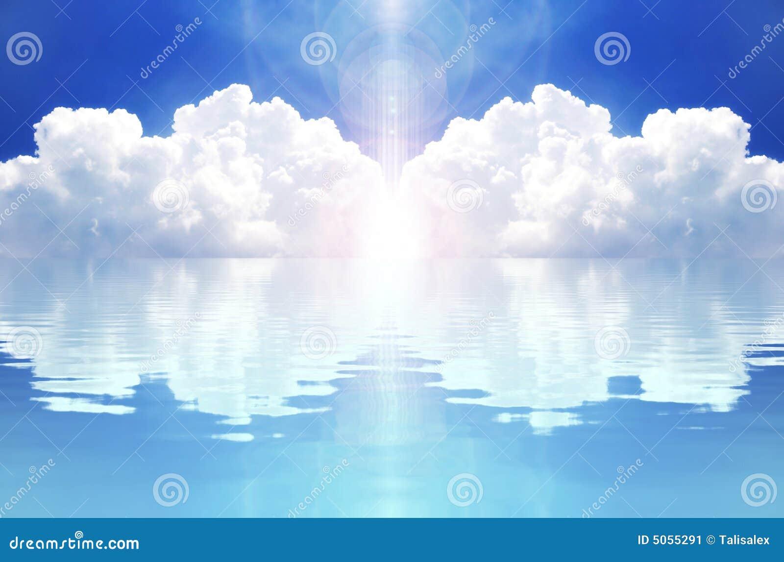 Nube y reflexión