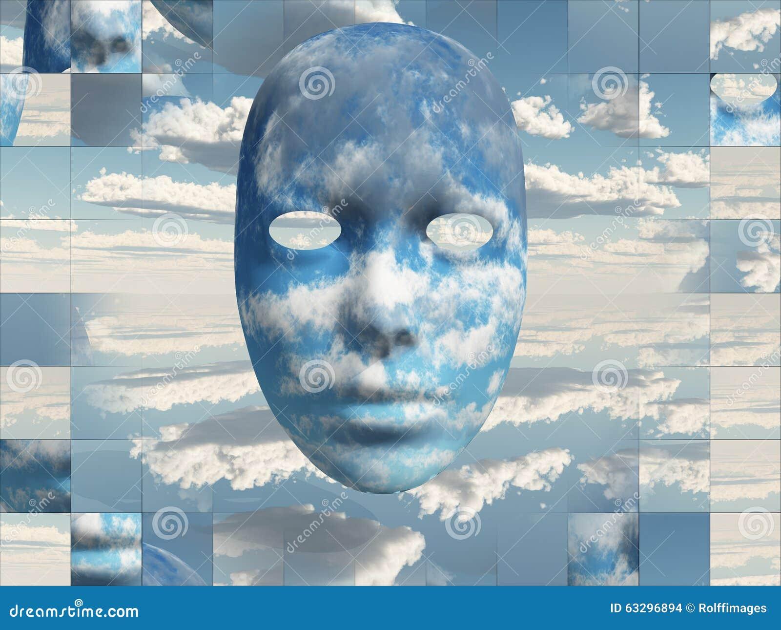 Nubes de la cara