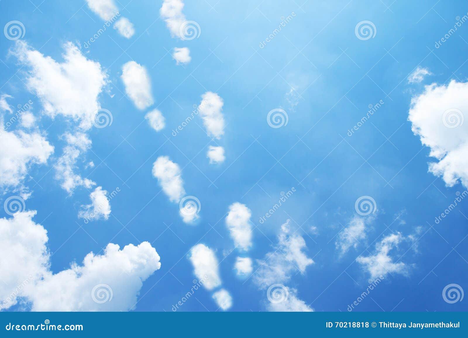 Zapatos La Foto Como Impresión Formadas Nubes De Los Archivo 76gyYbfv