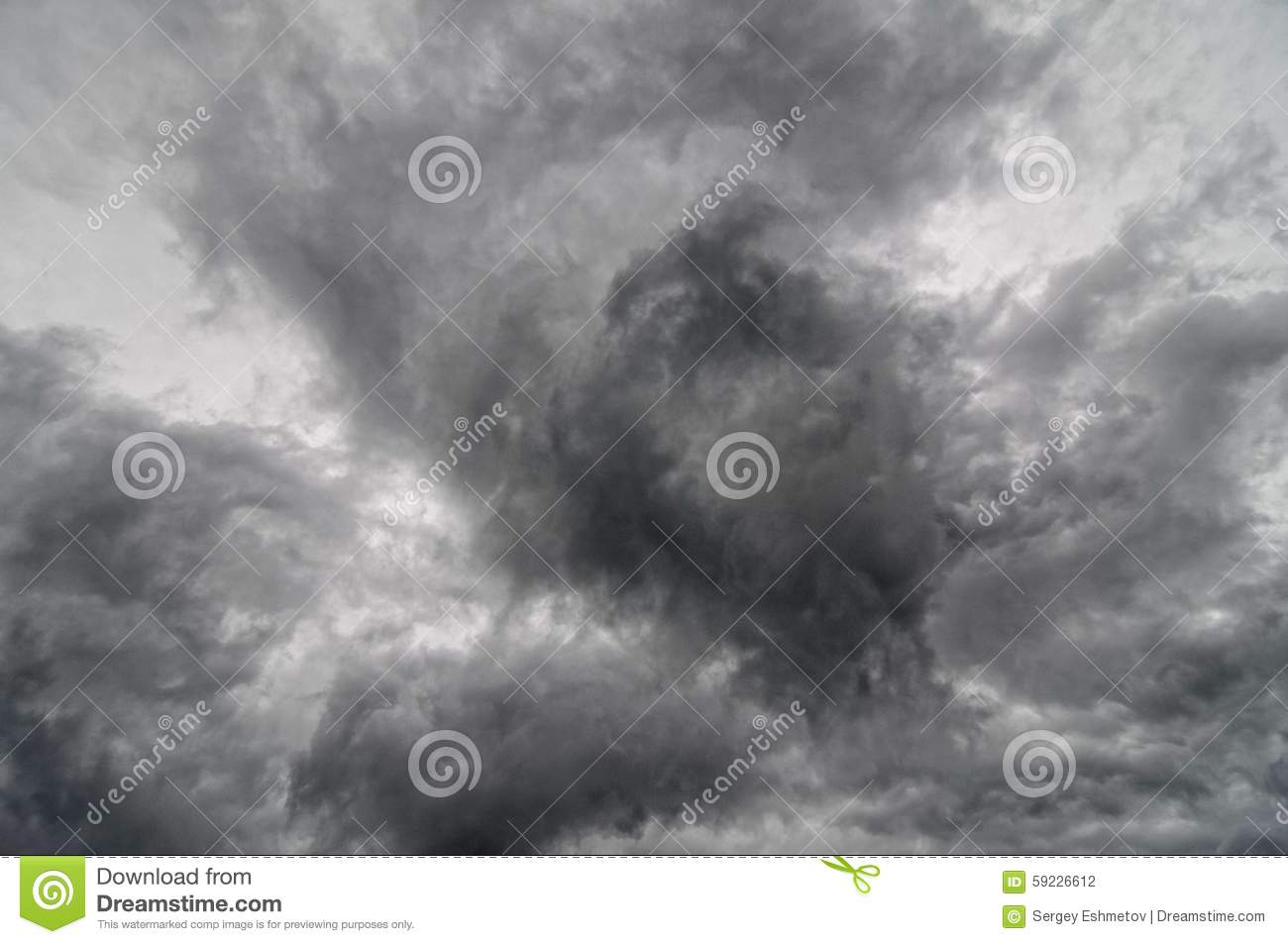Nubes oscuras
