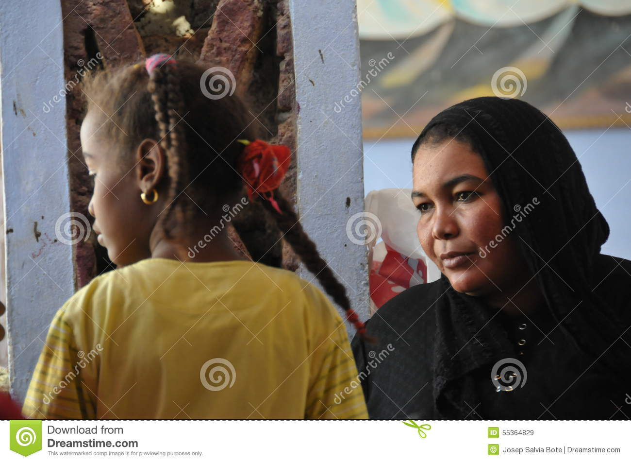 Nubian people editorial stock image  Image of egyptians