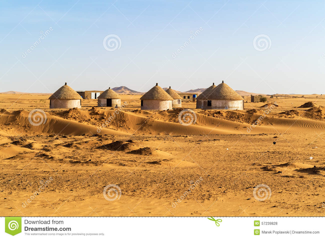 nubian village in sudan stock photo image of dongola