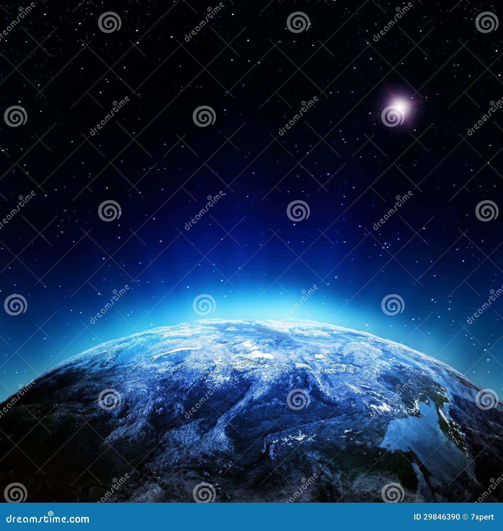 Nubla-se a atmosfera do espaço