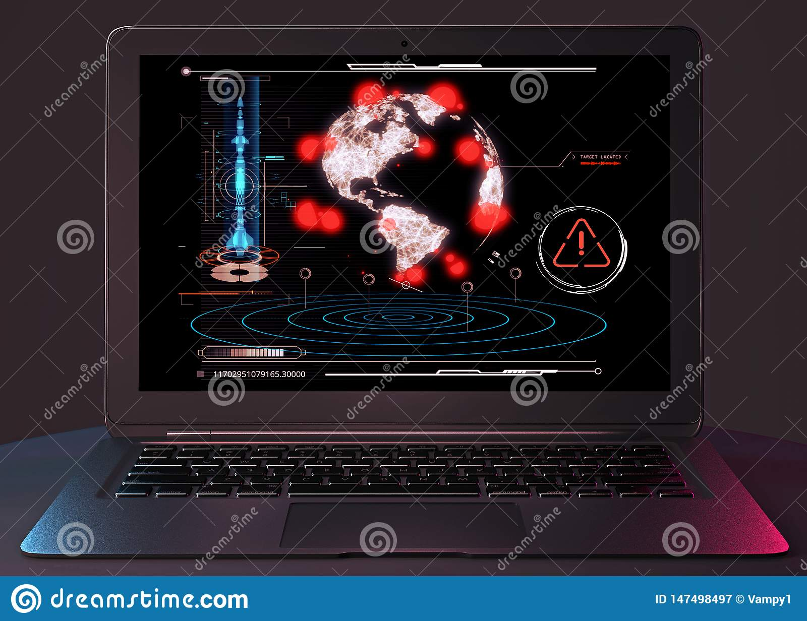 Nuclear attack, missile attack, sabotage, atomic weapons. Explosion of nuclear charges. Armed group. Computer hackers. HUD