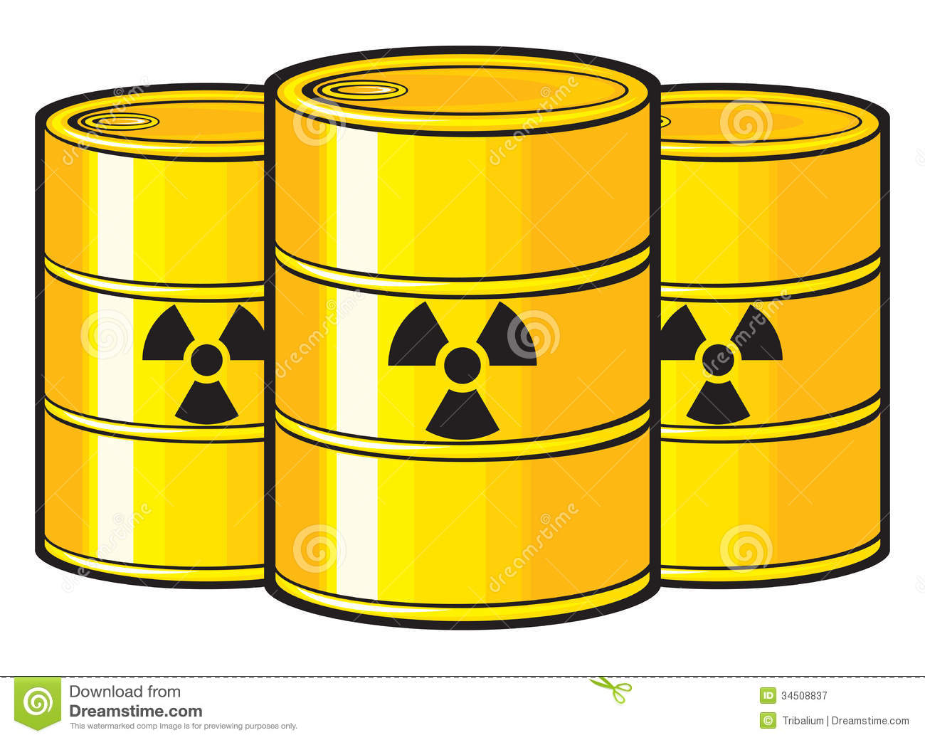 Nuclear stock vector. Image of pollution, contaminated ...