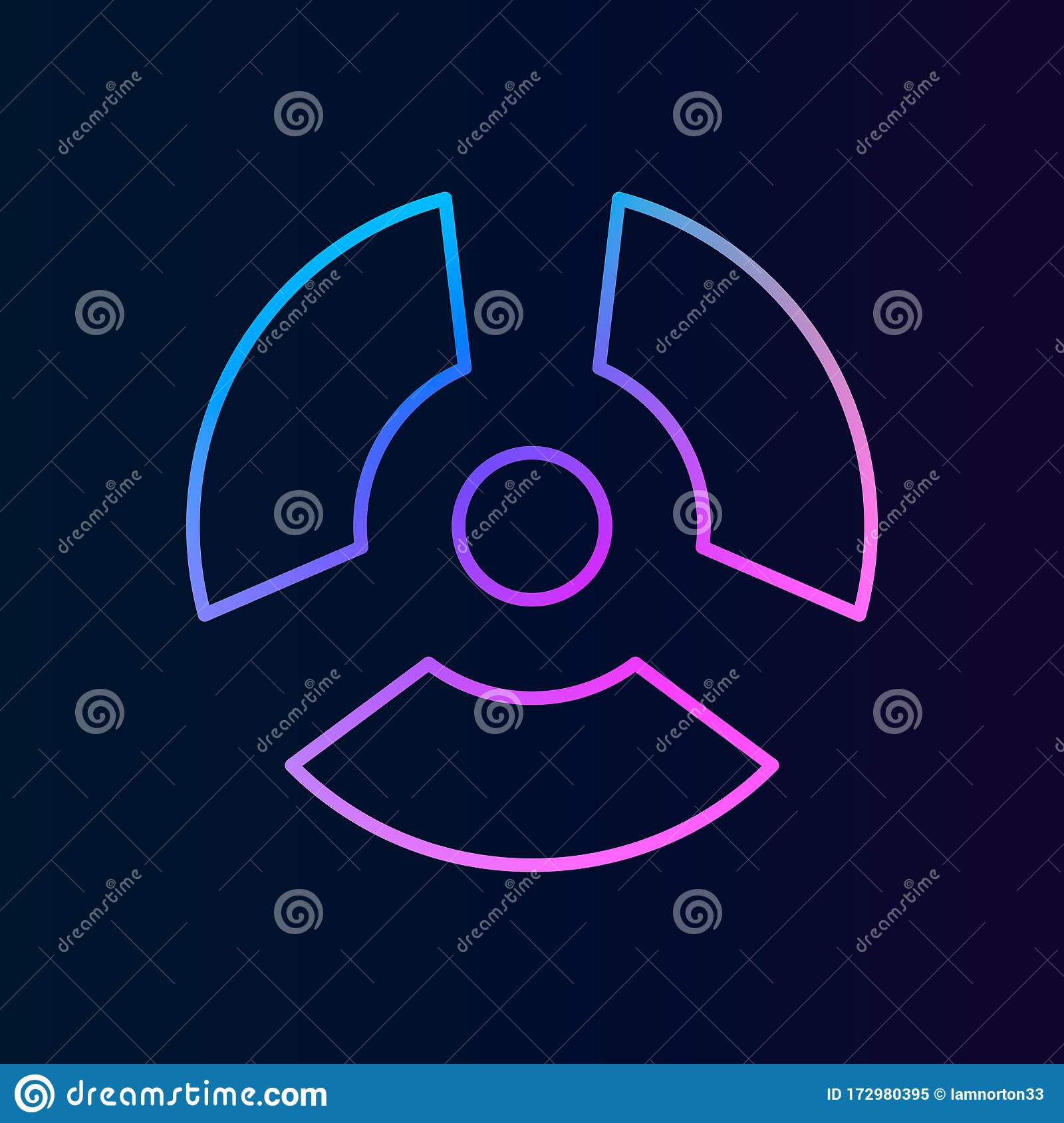 nuclear energy nolan icon simple thin line outline vector of biologyicons for ui and ux website or mobile application stock illustration illustration of symbol stylized 172980395 dreamstime com