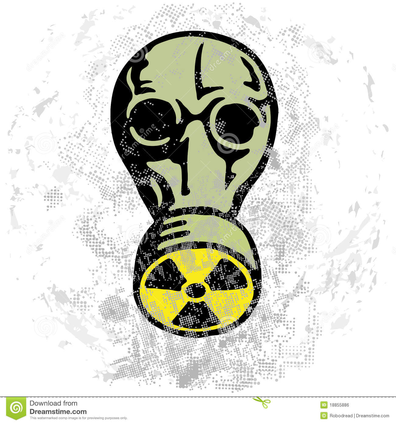 Nuclear Nightmare Royalty Free Stock Image