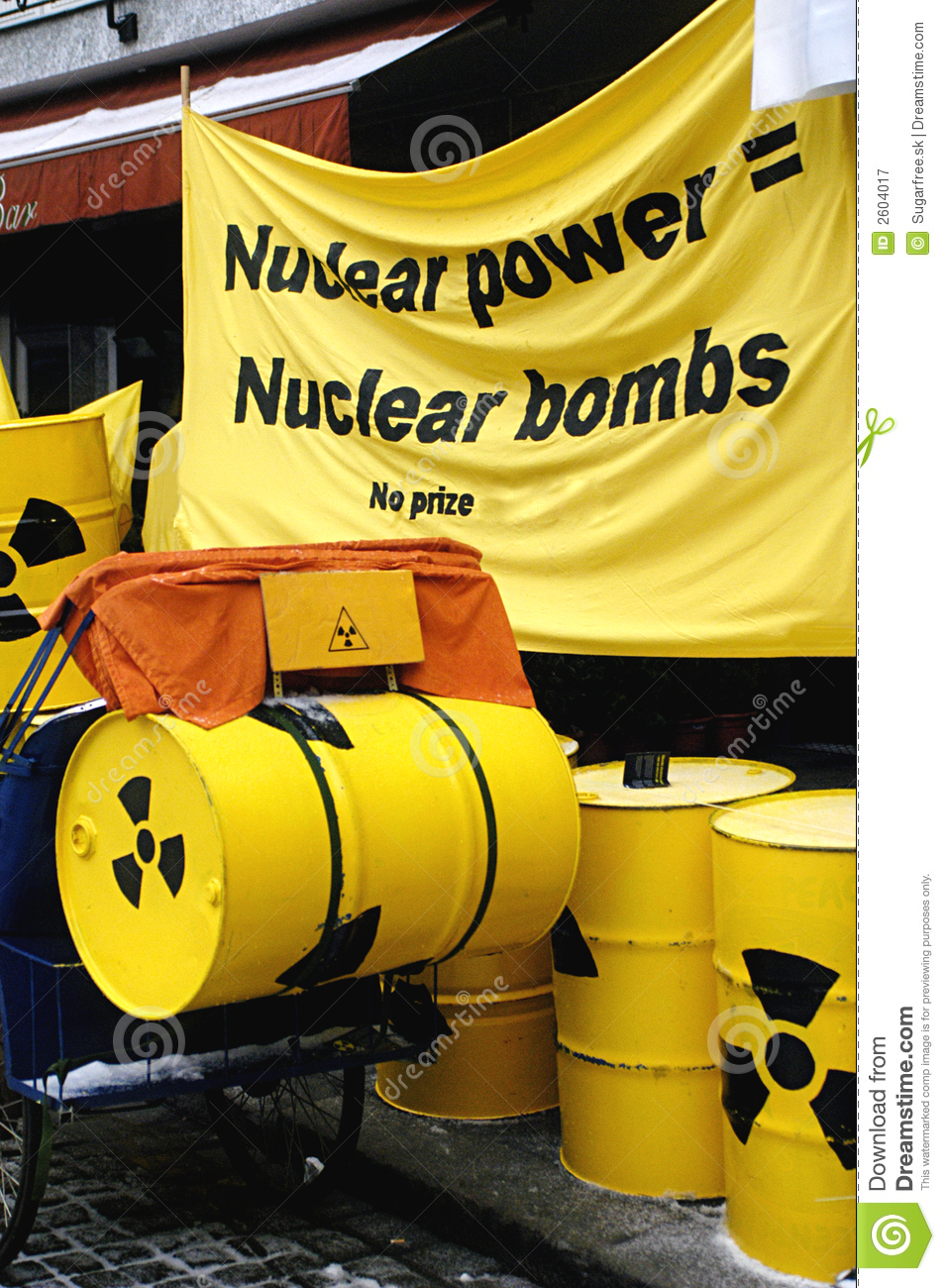 Nuclear power demonstration