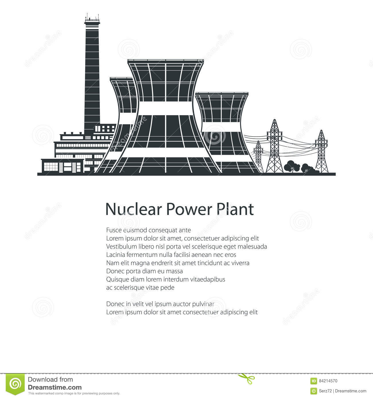 Nuclear Power Plant Layout Diagram Industrial Cartoons Illustrations Amp Vector Stock Images