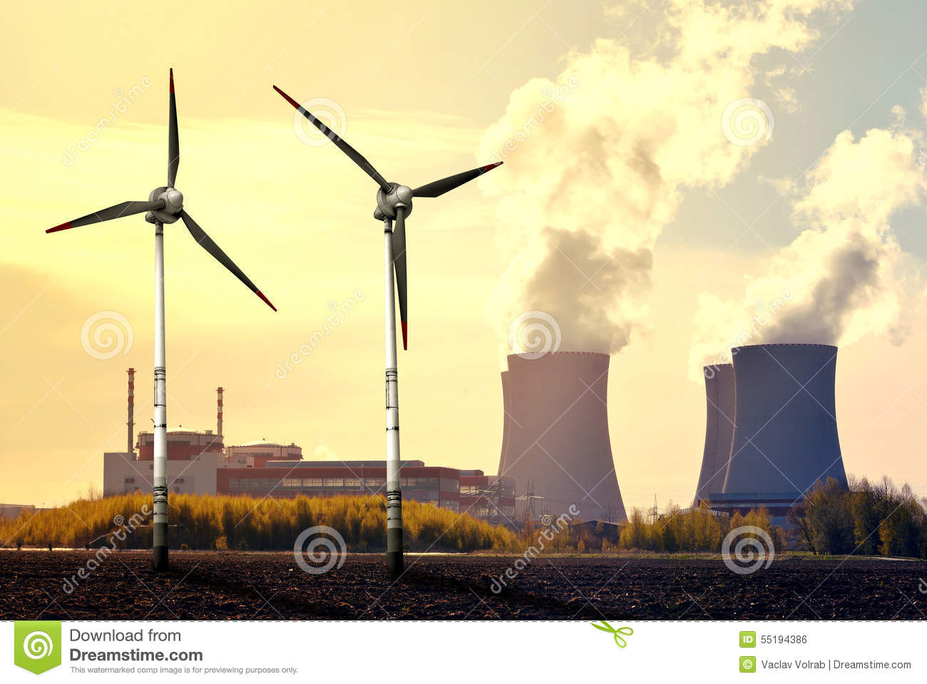 how are nuclear energy and wind energy similar