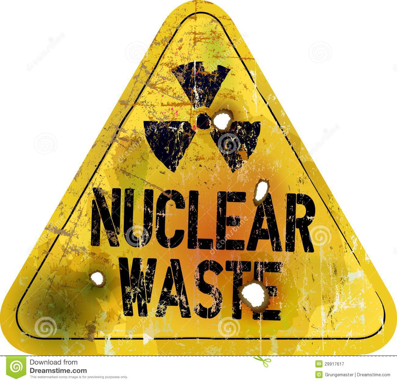 Nuclear Waste Royalty Free Stock Photography - Image: 29917617