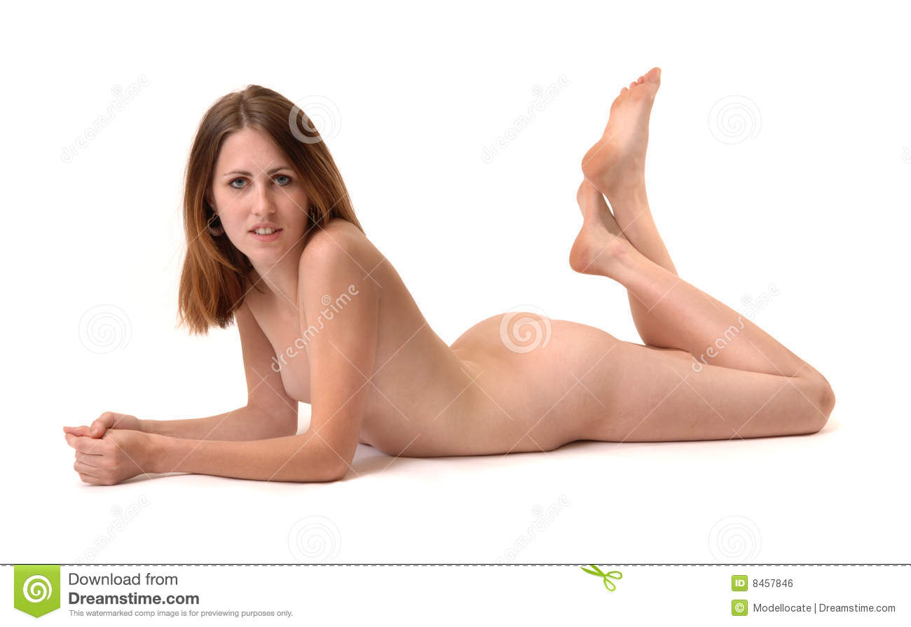 Girls legs spread face down