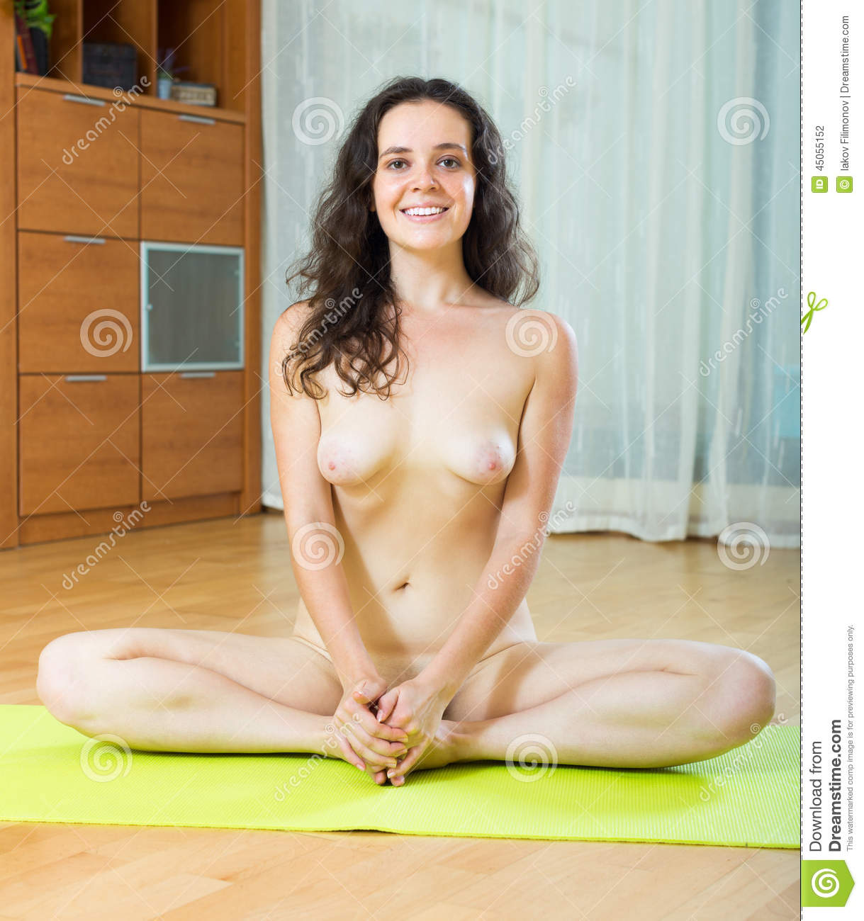 All became sexy naked girls doing yoga something is