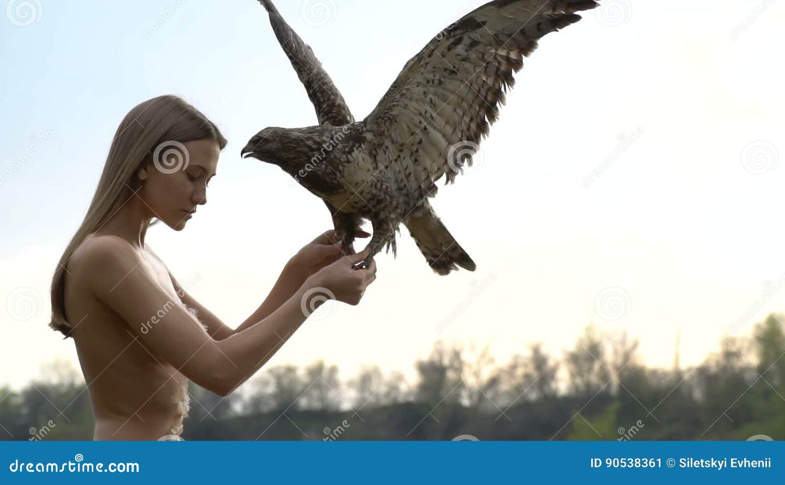 Consider, Girls all the eagles naked girls something
