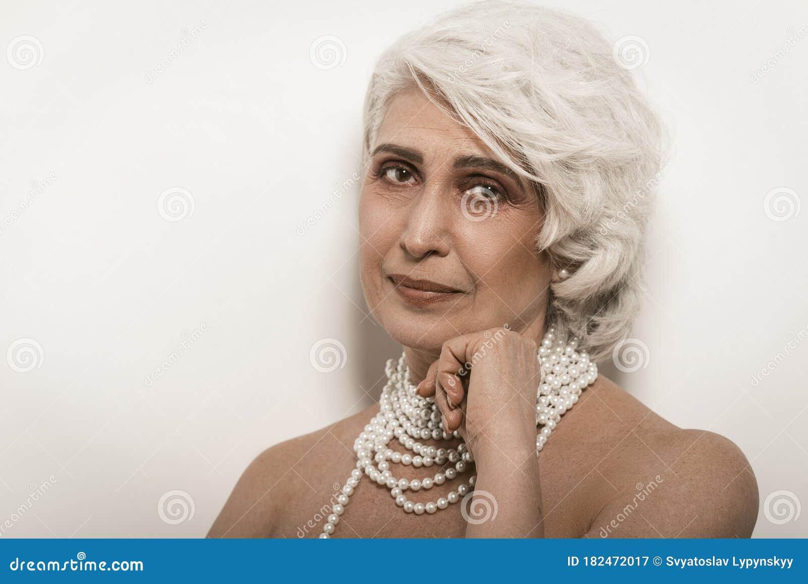 Proper woman   Older woman photography, Portrait