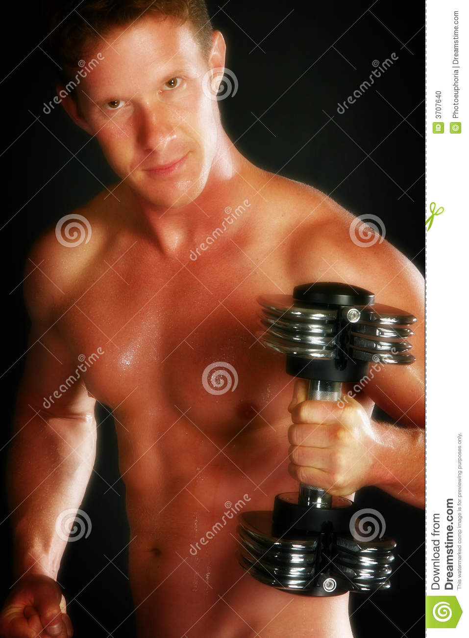 Nude Male Workout