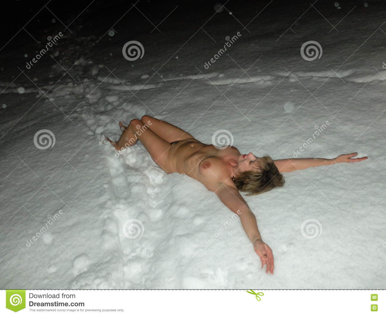 Snow in finnish nude girls