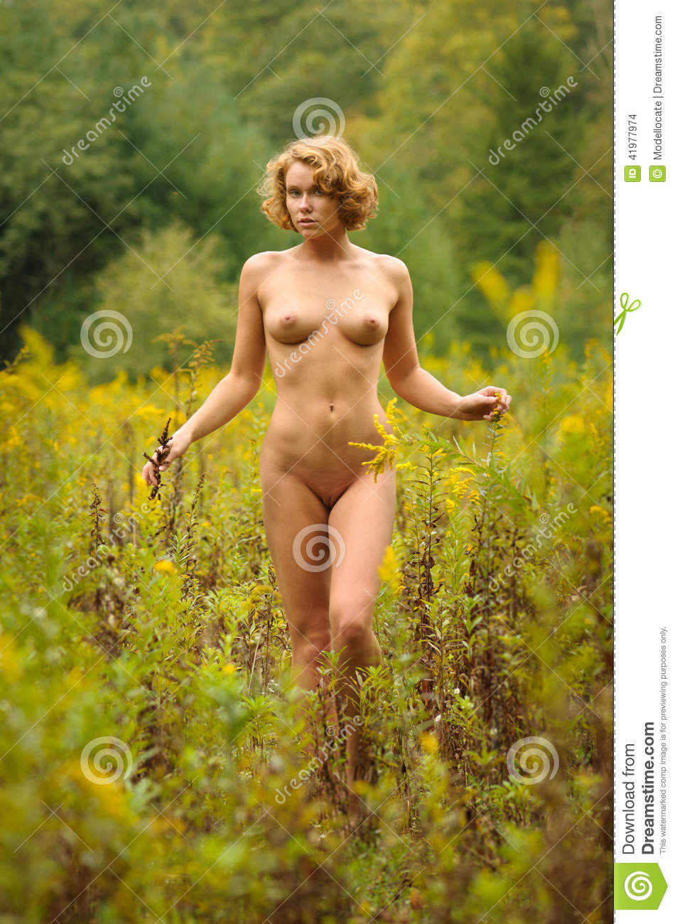 Nude In Field 91