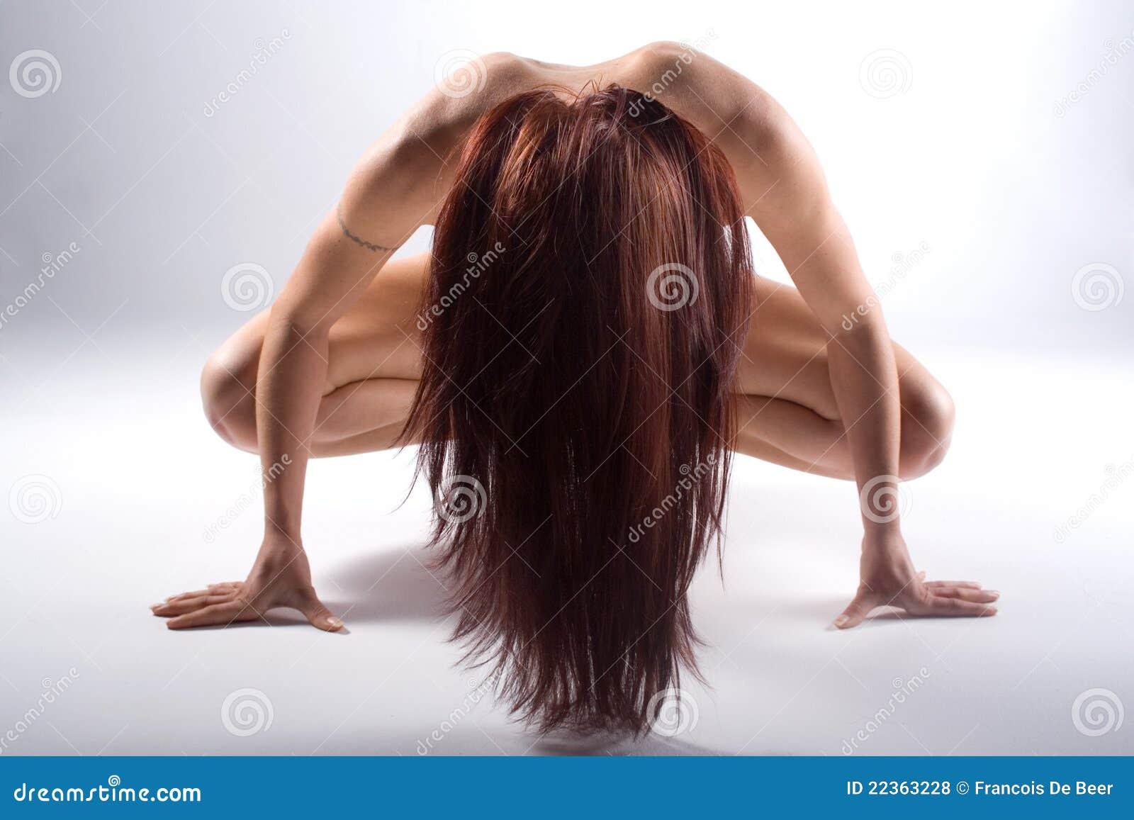 Femme avec gros sein
