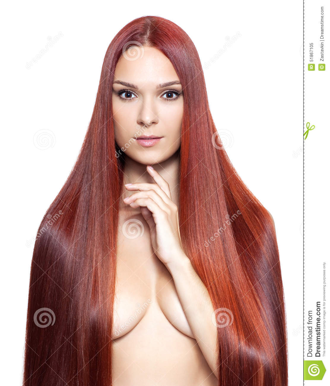 Nude Women With Hair 24