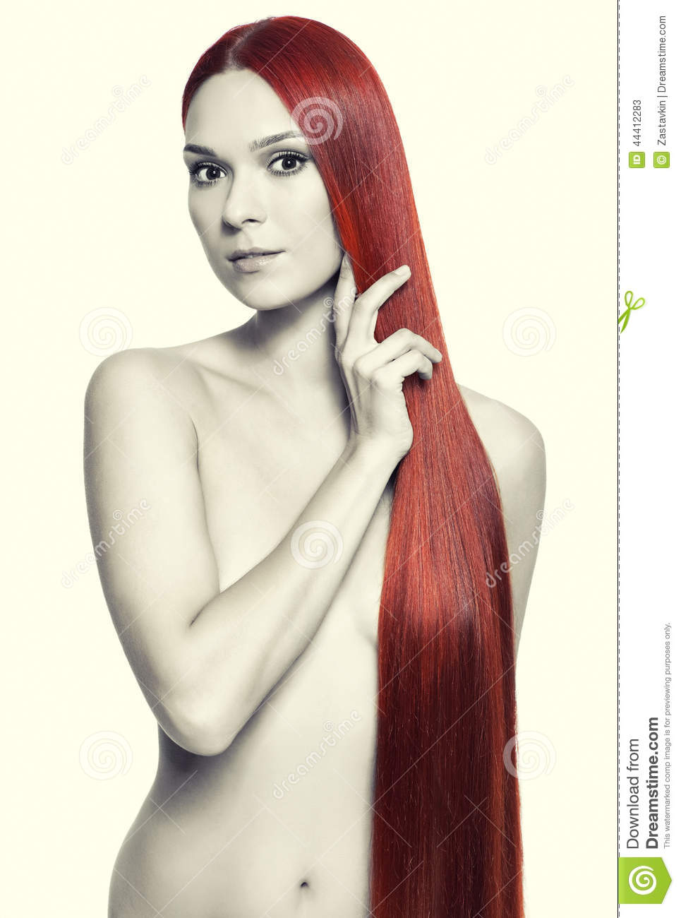 For Natural red hair nude pity