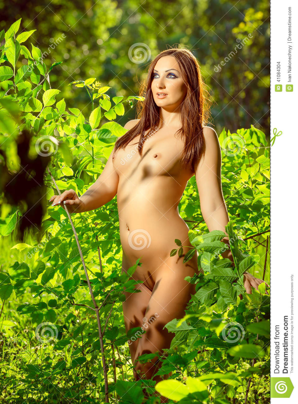 Nude Woman In Nature Stock Photo Image Of Beauty, Nude -3536