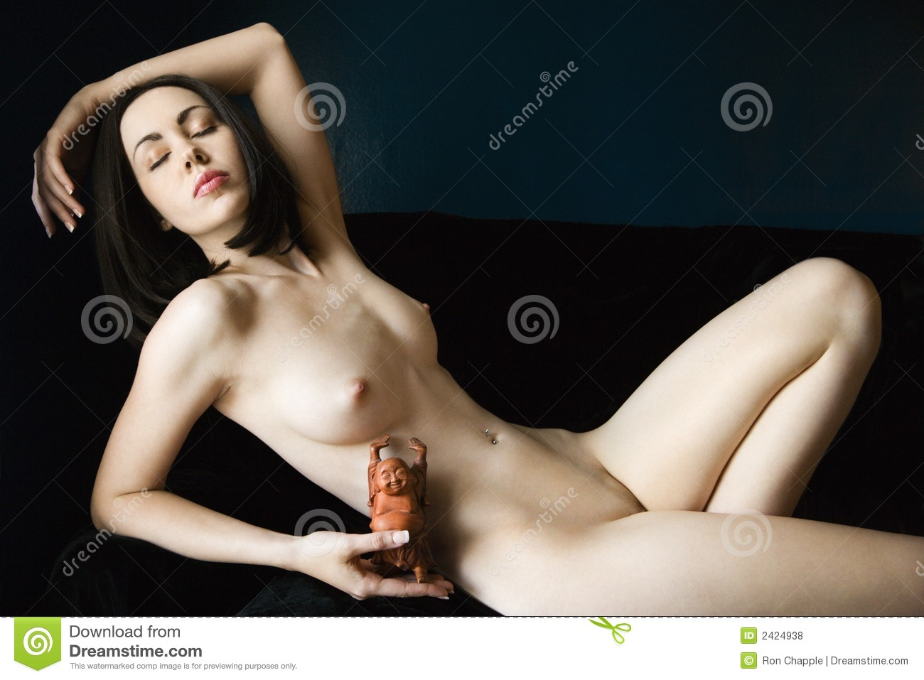 Nude Woman Reclining Royalty Free Stock Photos - Image -8628