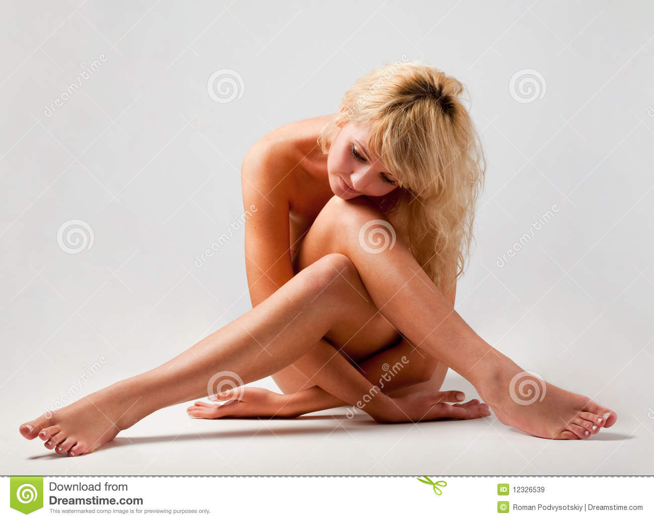Royalty Free Stock Images Nude Woman Sitting