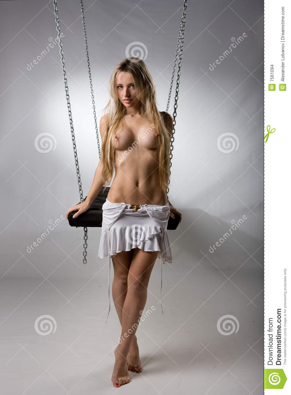 Hot nude women in swing