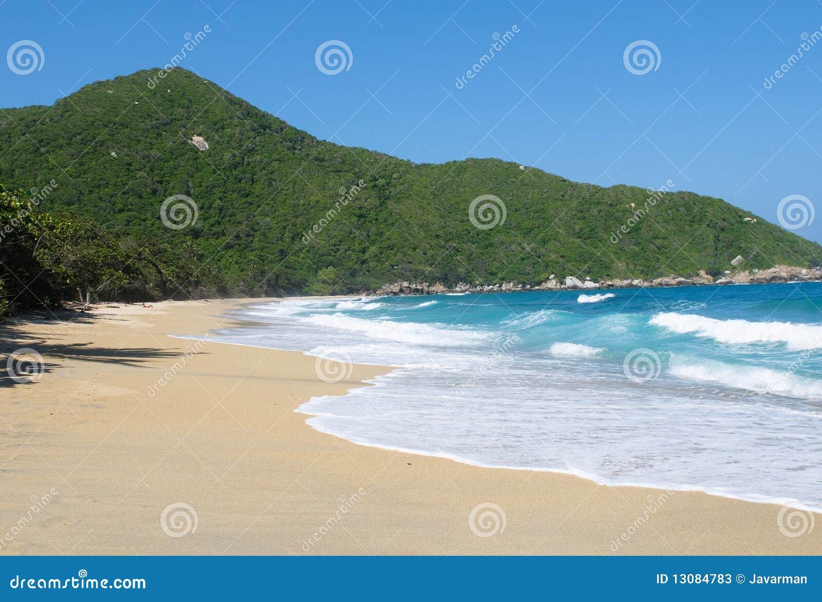 Stock Photos: Nudist Beach, Tayrona national park, Colombia