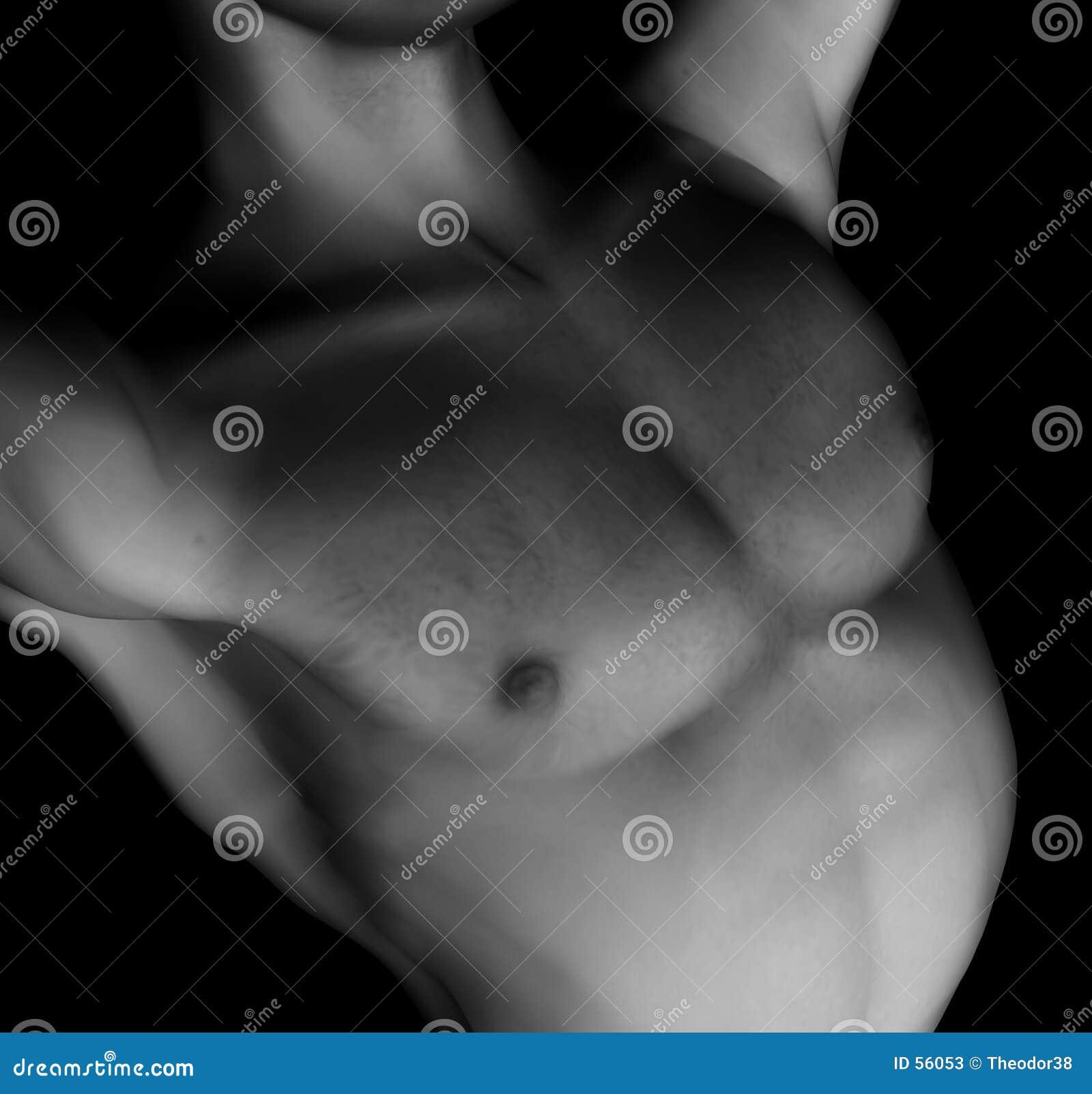 Download Nudité male-13 illustration stock. Illustration du peau - 56053
