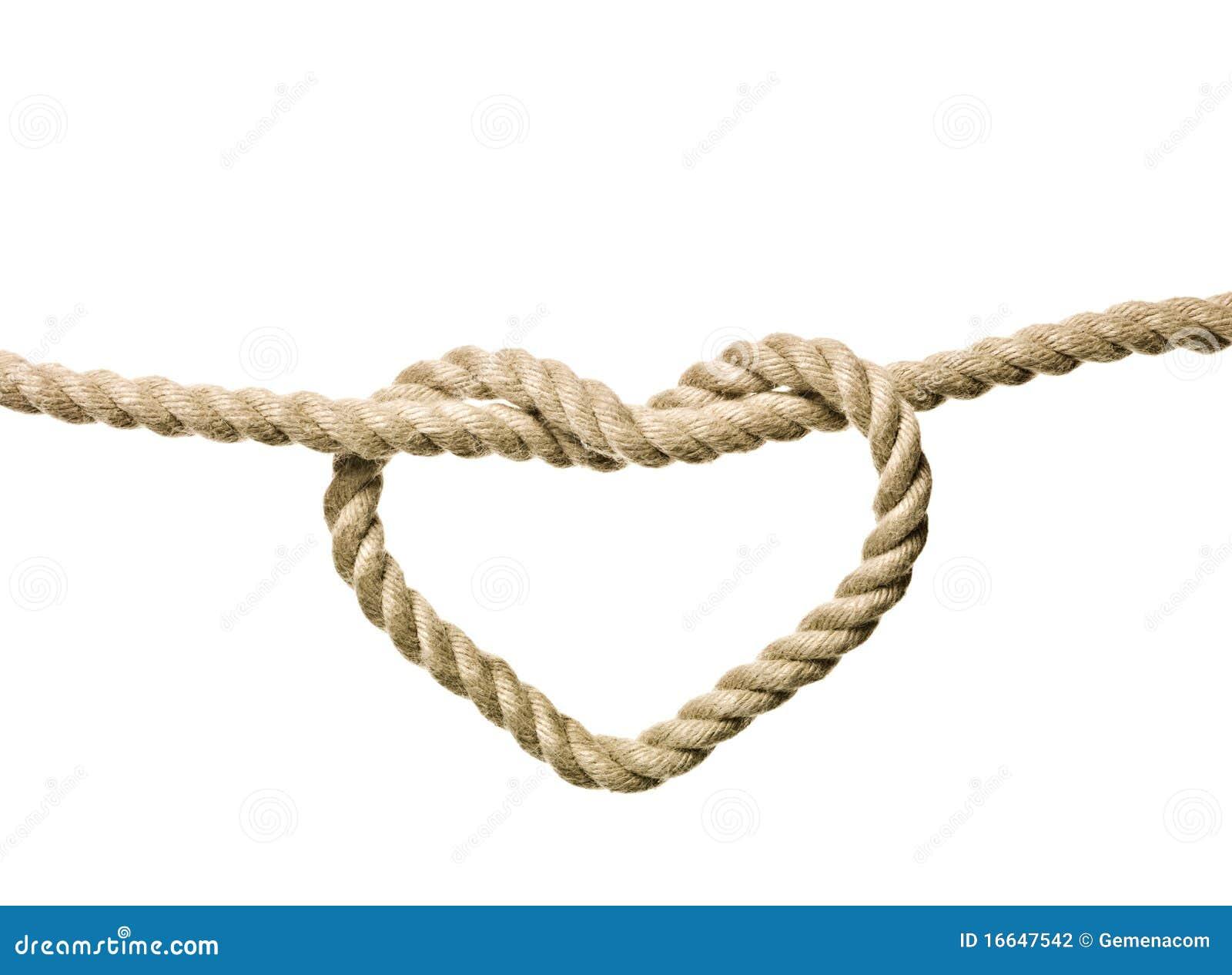 Nudo en forma de corazón
