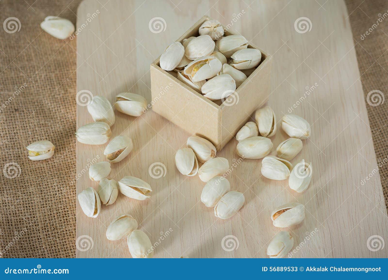 Nueces de pistachos saladas