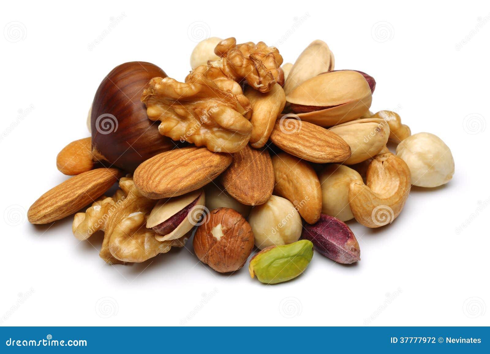 Nueces mezcladas