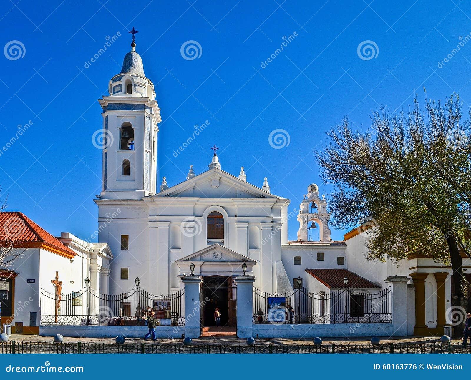 Nuestra señora Del Pilar kościół przy Buenos Aires, Argentyna