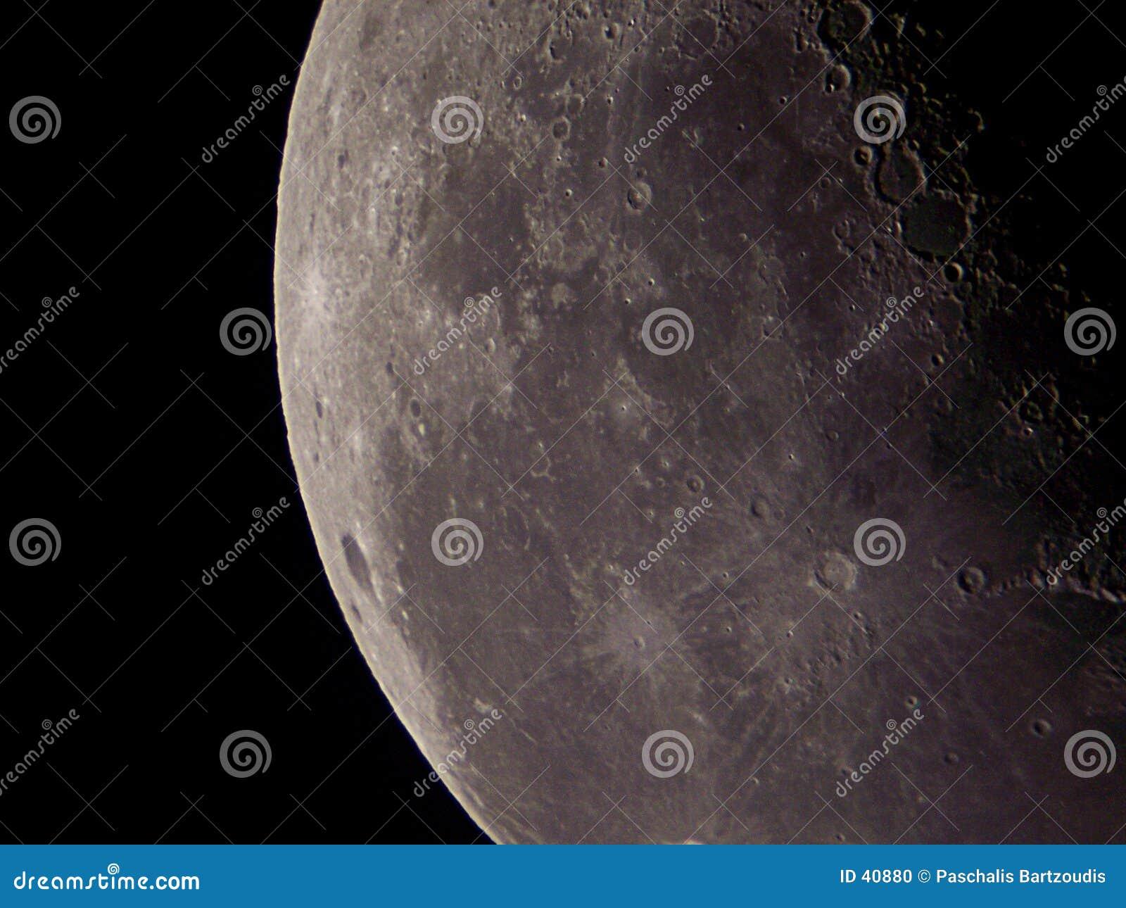 Download Nuestro satélite foto de archivo. Imagen de distancia, gravitación - 40880