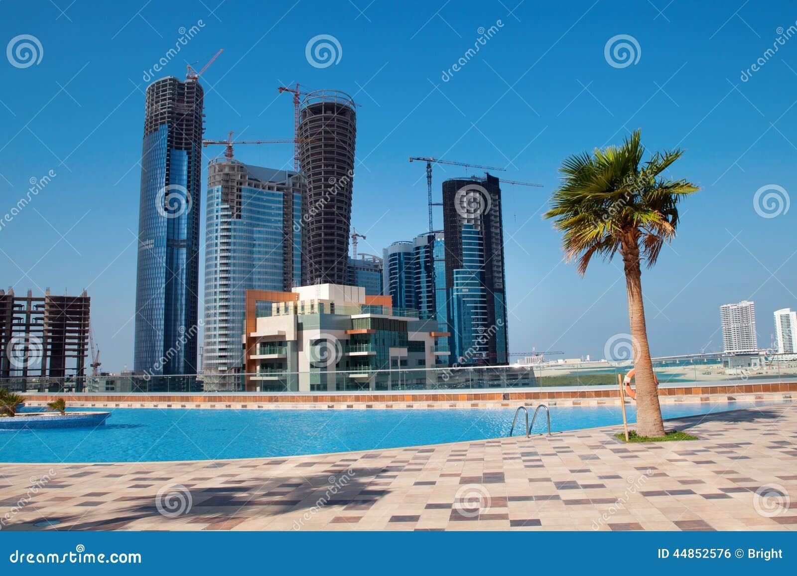 Nueva ciudad Abu Dhabi UAE
