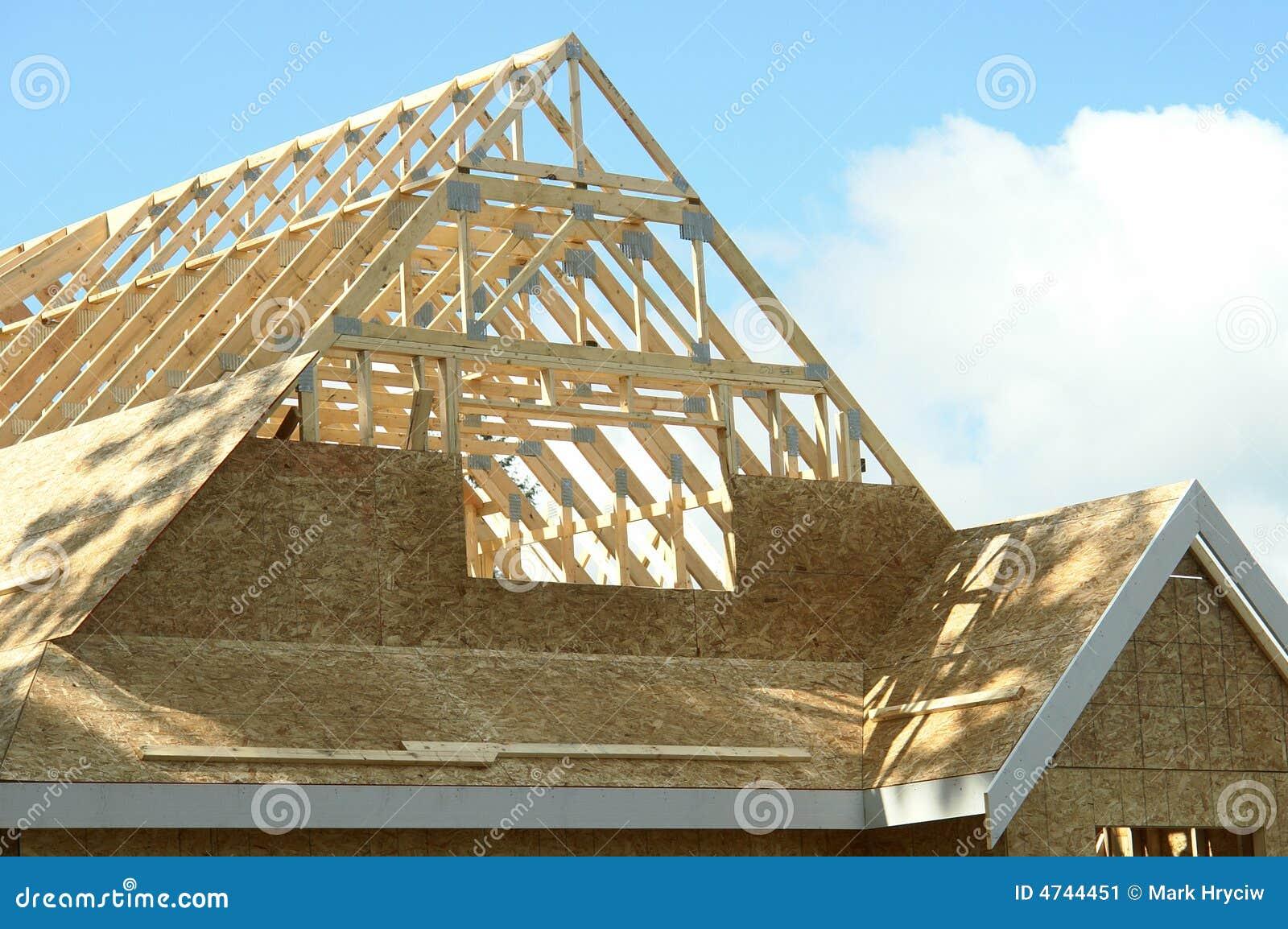Nueva Construcción Casera De La Casa A.C. Imagen de archivo - Imagen ...