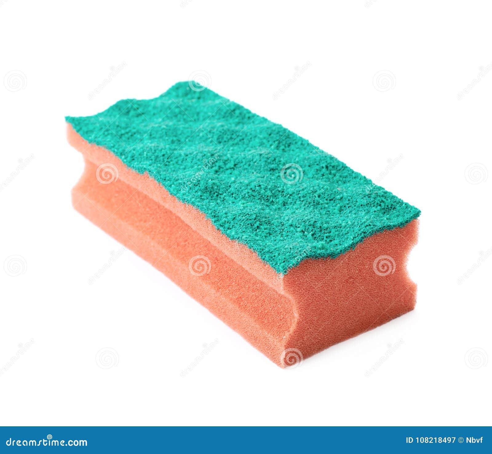 Nueva esponja de la cocina aislada
